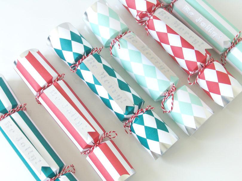 crackers pour noel DIY : les crackers de Noël   Les boîtes de Marie crackers pour noel